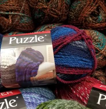 Premier Puzzle Yarn!